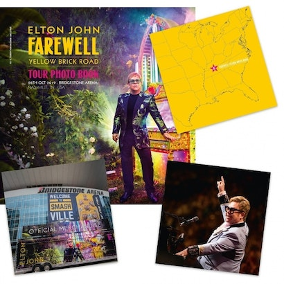 RPI is producing the official photobook of Elton John's Farewell tour
